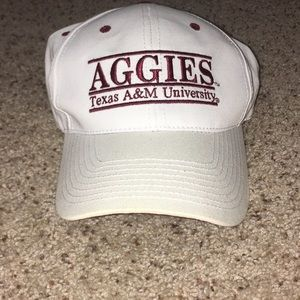Accessories - white Texas A&M hat